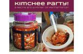 Kimchi Party ! Une recette et une amorce sur la fermentation