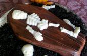 Spooky cercueil Cupcakes