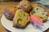 Bacon, fromage et oeufs Muffins