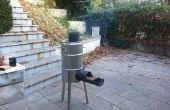 Fusée de poêle et barbecue