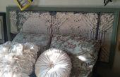 Tête de lit au plafond carrelage