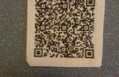 QR-Code Cross Stitch Patch