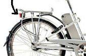 Electric Bicycle clignotant LED feu arrière avec un 5V à 48V gamme de tension d'entrée