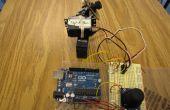 Arduino + 2 Servos + joystick (manette)