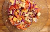 Tomate & salade fromage