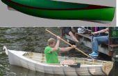 Fab votre propre bateau à rames de pas cher tube de pvc, tissu de tente et sous-couche (70$!)