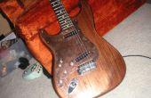 Comment faire un pickguard guitare métal personnalisé !