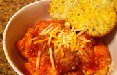 Boules de saucisse italienne facile repas #1 et Tortellini fromage 3