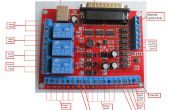 6 axes CNC MACH3 gravure Machine Interface Breakout Board PWM USB broche avec série A131 ASKPOWER