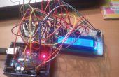 Affichage de mesure de température sur 16 x 2 LCD avec réglage de la température supérieure et limite inférieure pour Arduino à l'aide de mise en garde