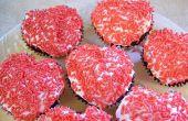 Faire des coeur la Cupcakes en forme sans un moule spécial a