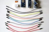 Arduino Nano : Mesurer la distance avec Ranger par ultrasons et de l'enregistrer pour carte MicroSD avec Visuino