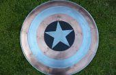 Cuivre et aluminium Captain America bouclier