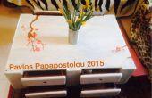Palette Table basse avec tiroirs