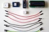 Arduino Nano : Voir la localisation GPS sur I2C 2 X 16 LCD Display avec Visuino