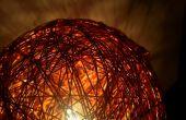 Rougeoyant lampe de fil de cuivre