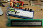 Conduire un HD44780 afficher à l'aide d'un registre à décalage et une framboise Pi