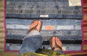Recycler Denim : Tapis de sol de ceinture et d'entrejambes