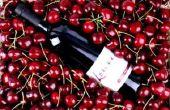 Recette de cerise maison vin