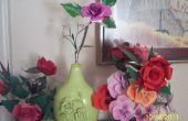 Roses de canettes de boissons gazeuses