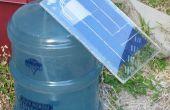 Bioréacteur à énergie solaire algues
