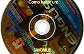 Savonius font l'un des vieux CDs DVDs