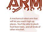 Bras de Robot mécanique carboard