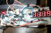 Compteur de l'horloge avec RTC DS-1302
