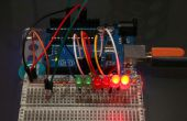 Graphique à barres sensibles Arduino lumière