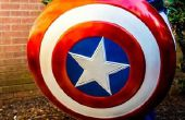 Custom Made Captain America casque