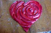 3D Rose Heart
