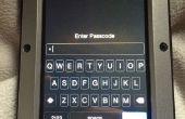1 lettre mot de passe sécurisé