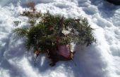 Comment faire un abri de neige