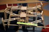 En bois robot hexapode