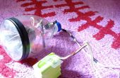 Comment faire LED Headlight pour vélo à l'aide d'une bouteille.