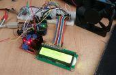 Moteur de l'Arduino PWM et LCD