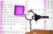 Porte-clés en forme de loupe & poche taille annexe