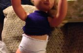 Culotte de poupée d'aucun-cousez facile