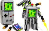 Domaster & Tetrawing - jeu de Game Boy & Tetris transformer des robots !