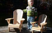Les chaises Adirondack enfant taille