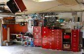 Garage - atelier - outils - Reno & organisation