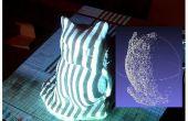 DIY scanner 3D basé sur vision structurée de léger et stéréo en langage Python