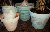Peindre des Pots de terre cuite