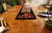 Barbecue bricolage Table