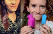 Comment : teindre vos cheveux avec du papier crépon