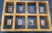 Affichage de boîte d'allumettes vintage lonesoulsurfers