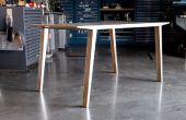 Sillage de Table (expériences en aluminium et contreplaqué stratification)