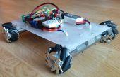 Robot de roue mecanum - bluetooth contrôlée