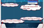 Comment choisir un PDF droit à MS Office Word Converter Mac logiciel