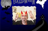 Miroir interactif de Halloween